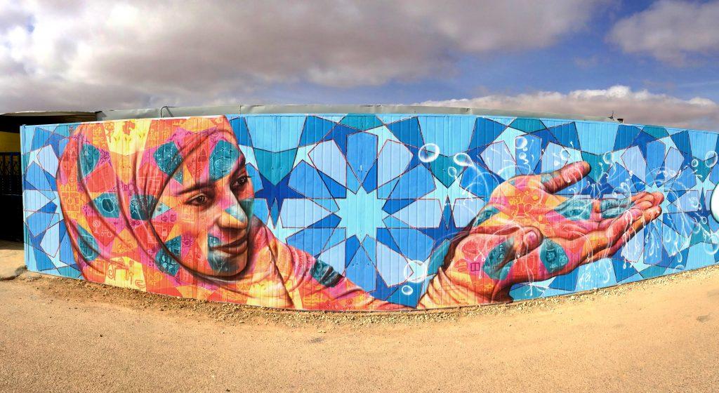 Ürdün'de Zaatari mülteci kampından 'Art from Zaatari'